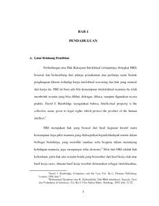 Perlindungan Hukum Hak Cipta Film Atas Penyebaran Yang Dilakukan Oleh Situs Ganool Dihubungkan Dengan Undang Undang No 28 Tahun 2014 Tentang Hak Cipta Dan Undang Undang No 11 Tahun 2008 Tentang Ite Repo Unpas