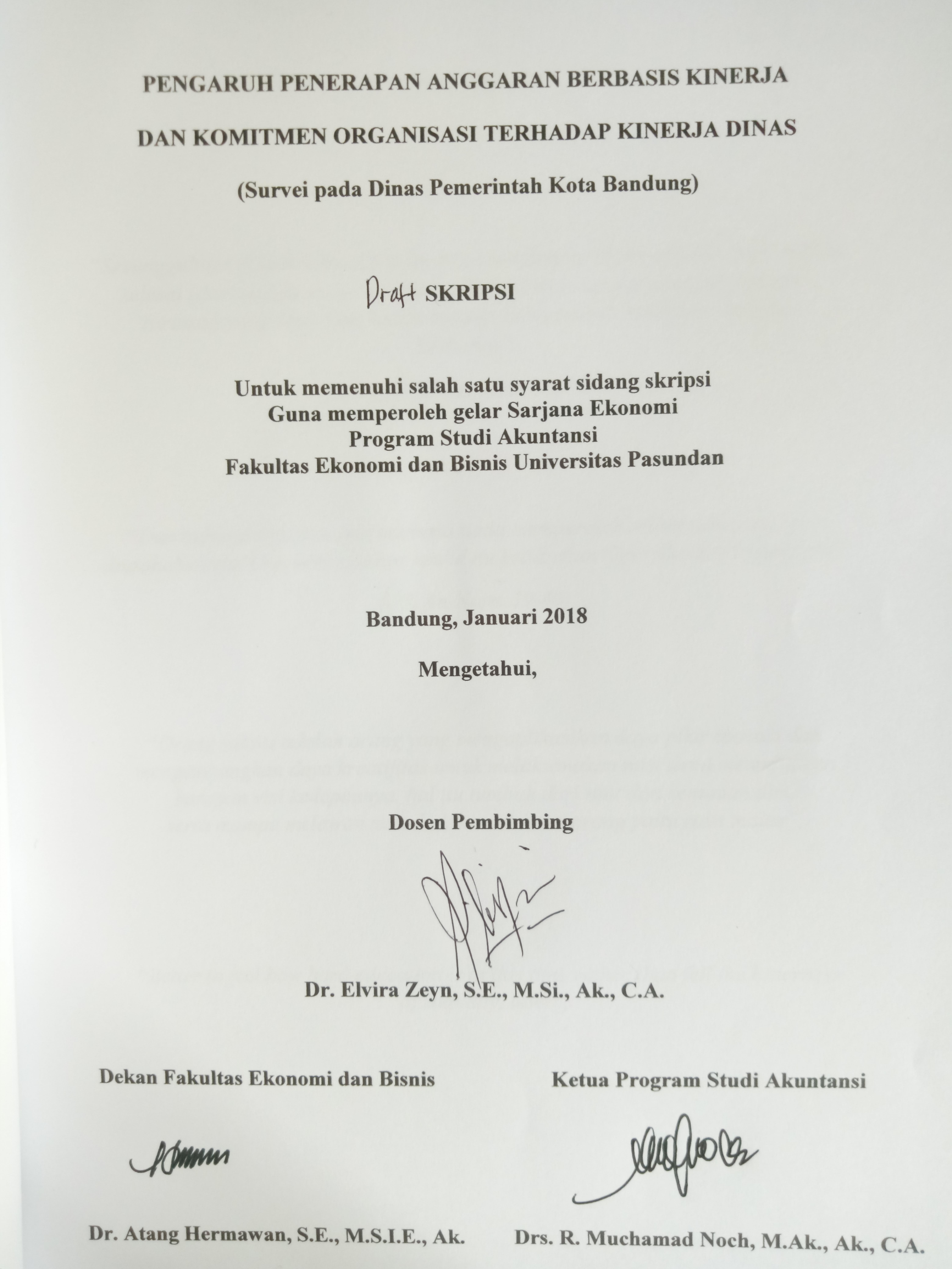 tesis komitmen organisasi terhadap kinerja