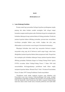 Surat Kuasa Mutlak Pada Perjanjian Jual Beli Tanah Sebagai Dasar
