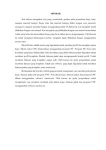 thesis ukiran kayu