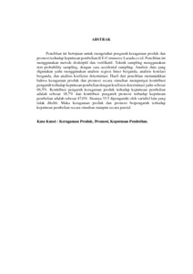 Pengaruh Keragaman Produk Dan Promosi Terhadap Keputusan Pembelian Pada E Commerce Lazada Co Id Survei Pada Mahasiswa Fakultas Ekonomi Dan Bisnis Universitas Pasundan Repo Unpas